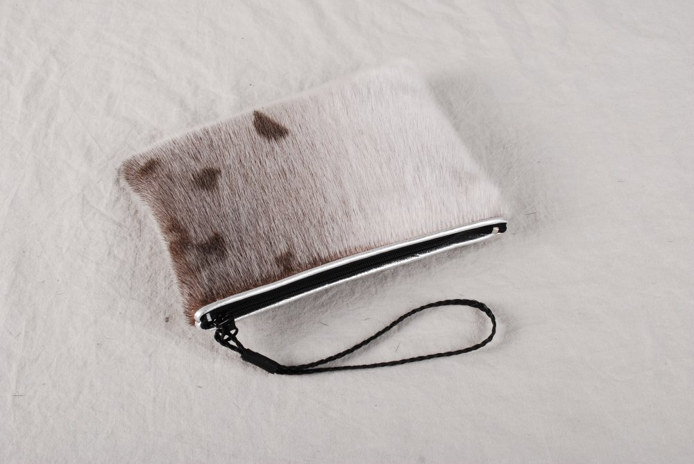 Leather Statement Clutch - AGED FIRE ALTARA by VIDA VIDA 6Bm2KNDBL